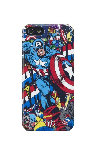 Anymode Marvel Comics Captain America Hard Case for Apple iPhone 5