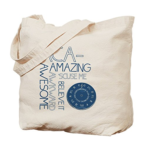 CafePress–aca-what Tote Bag–Natural gamuza de bolsa de lona bolsa, bolsa de la compra