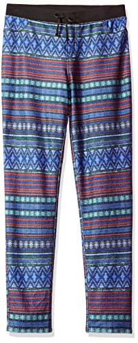 - Amy Byer Big Girls' Print Knit Pant with Rib Waist, Pat I/Multi, Small