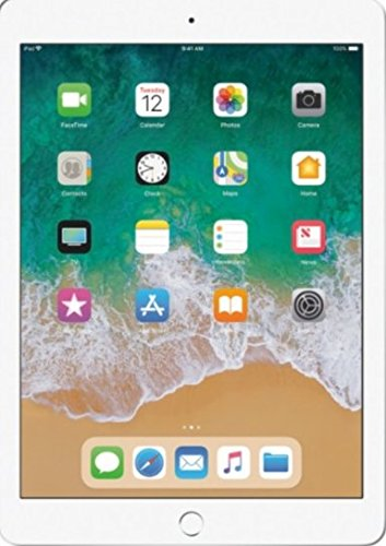 2017 Latest Model Apple iPad 9.7-Inch Retina Display, 128GB, WIFI - Silver