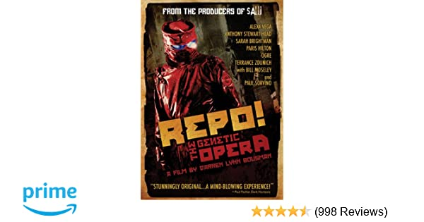 Amazon Repo The Genetic Opera Paul Sorvino Anthony Head