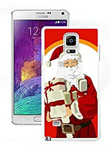 Recommend Design Santa Claus christmas White Samsung Galaxy Note 4 Case 4 by lolosakes