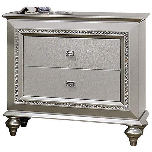 ACME Furniture 27233 Kaitlyn Nightstand Champagne