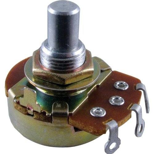 Potentiometer - Alpha, 250K, Reverse Audio, 3/8
