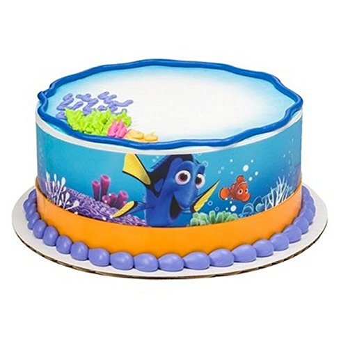 Finding Dory Licensed - Cake Side Designer Strips - Edible Cake/Cupcake Topper!!!