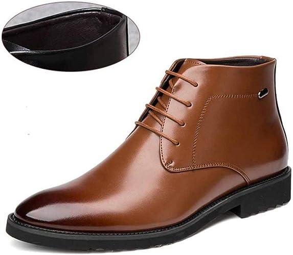 Men Formal Dress Shoes Winter Leather