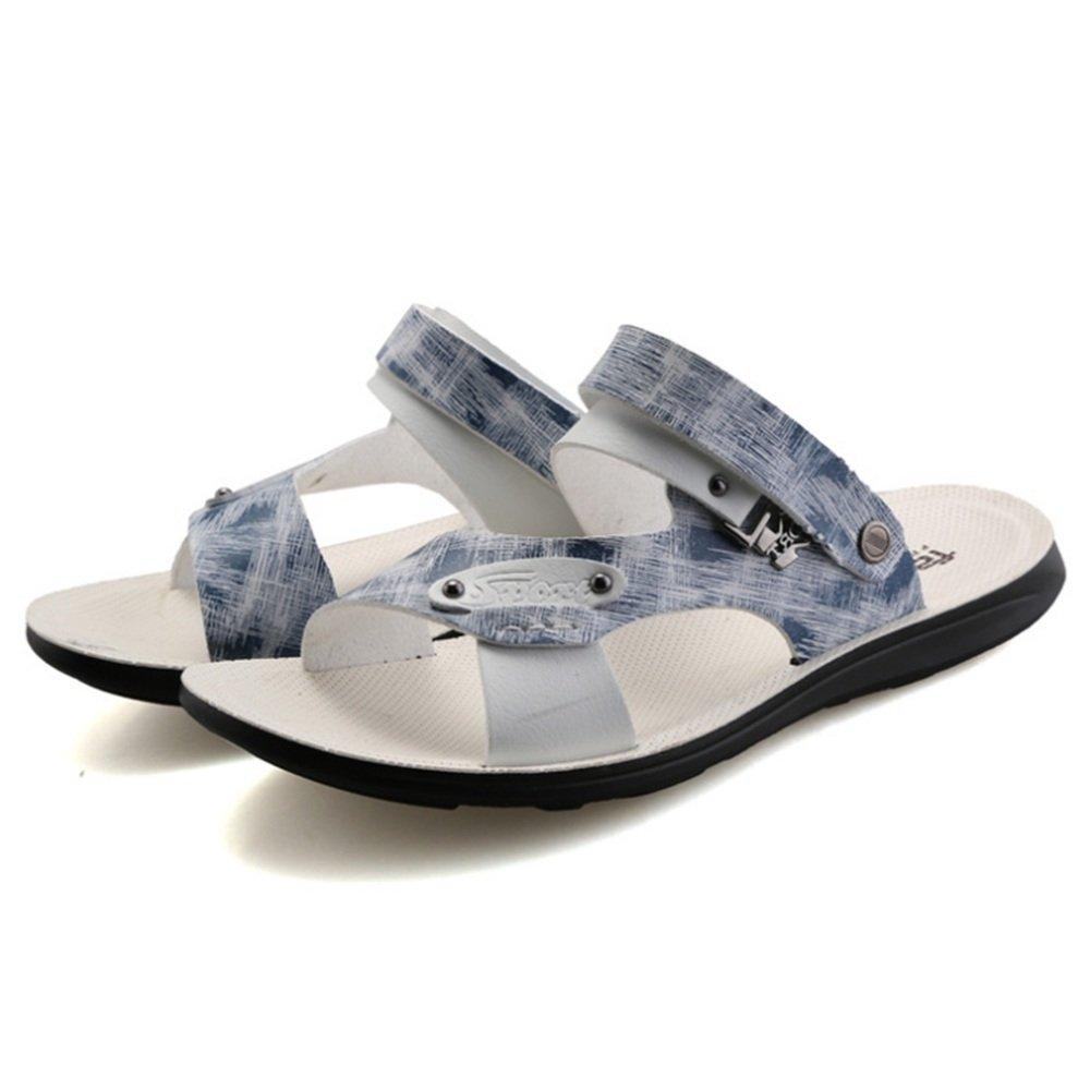 Wagsiyi Hausschuhe Sports Sandale Herren Sommer Outdoor Sports Hausschuhe Lederschuhe Mit Coolen Sandalen Strandschuhe (Farbe : Mehrfarbig, Größe : 40 EU) Mehrfarbig bd7b8f