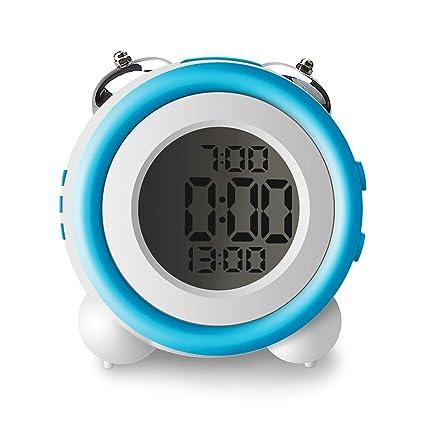 IKEAN Despertadores Digitales Infantil, Reloj de Alarma ...