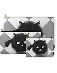 Society6 Cat Carry-All Pouch