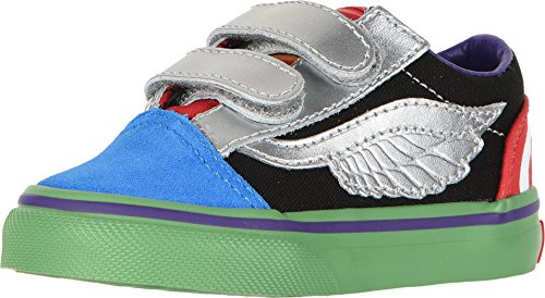 Vans X Marvel Old Skool Toddler Shoes, (Marvel) Avengers/Multi (6.5 M US -