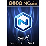 Software : NCsoft NCoin 8000 [Online Game Code]