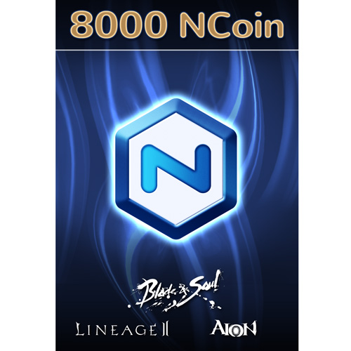 NCsoft NCoin 8000 [Online Game Code] from NCSOFT