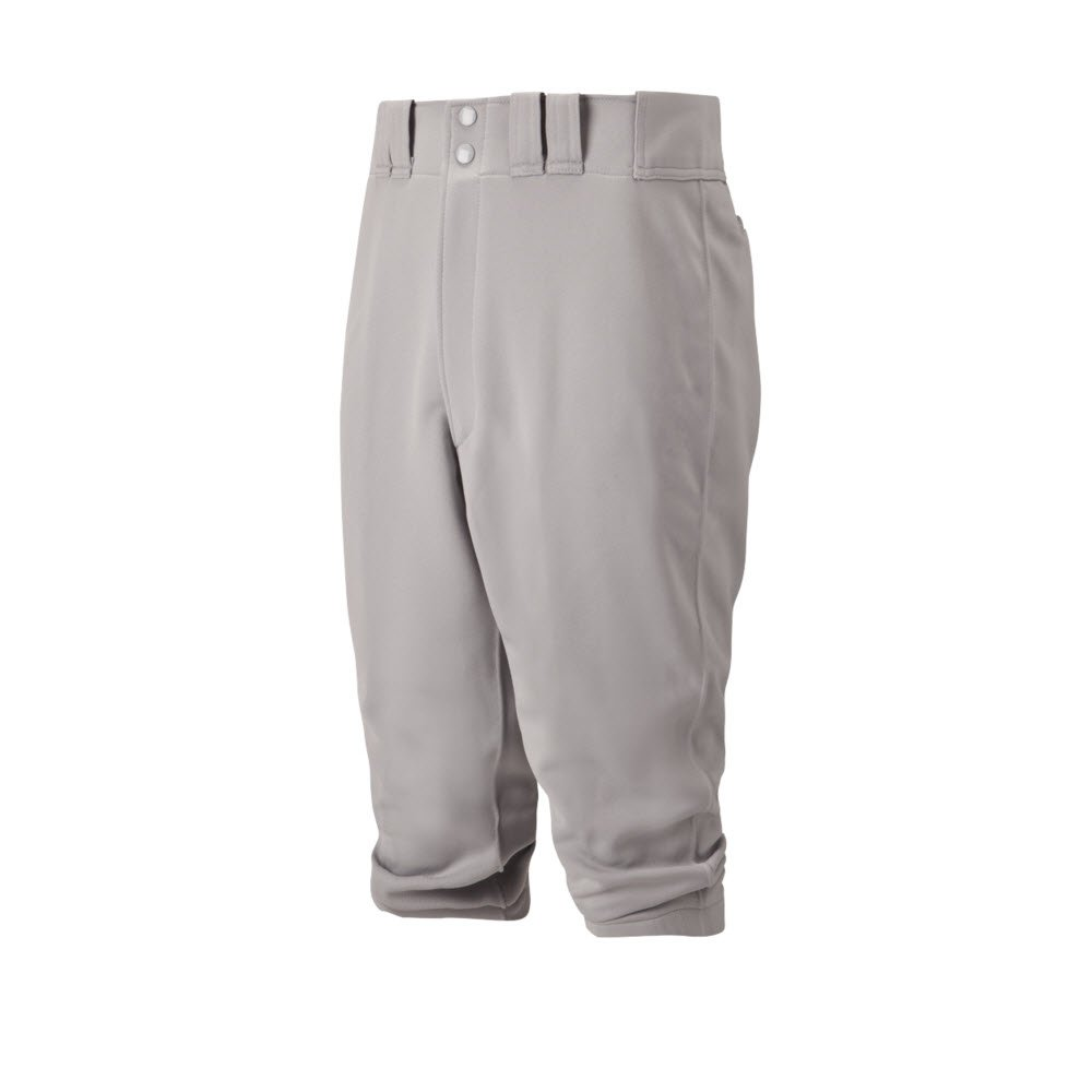Mizuno Adult Premier Short Baseball Pant, Grey, Small by Mizuno