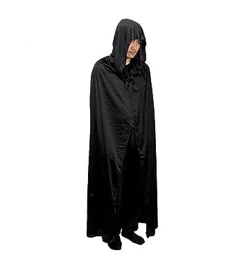 Amazon.com: kacm adulto Halloween Ball Cloak Asistente Robe ...