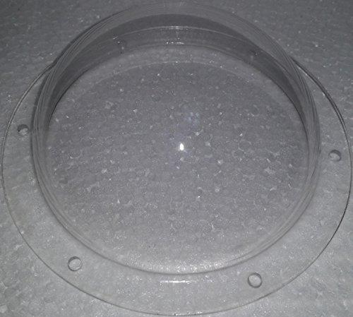 Supreme Tech Acrylic Dome/Plastic Hemisphere - Clear - 4