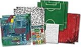 KAREN FOSTER Soccer Champ Scrapbook Page Kit 12''X12''-