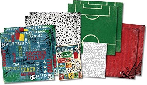 Karen Foster Scrapbook Kit, Soccer Champ