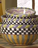 MacKenzie-Childs Large Mixing Bowl-Piccadilly