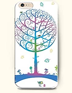 OOFIT iPhone 6 Case ( 4.7 Inches ) - Round Tree and Little Bird