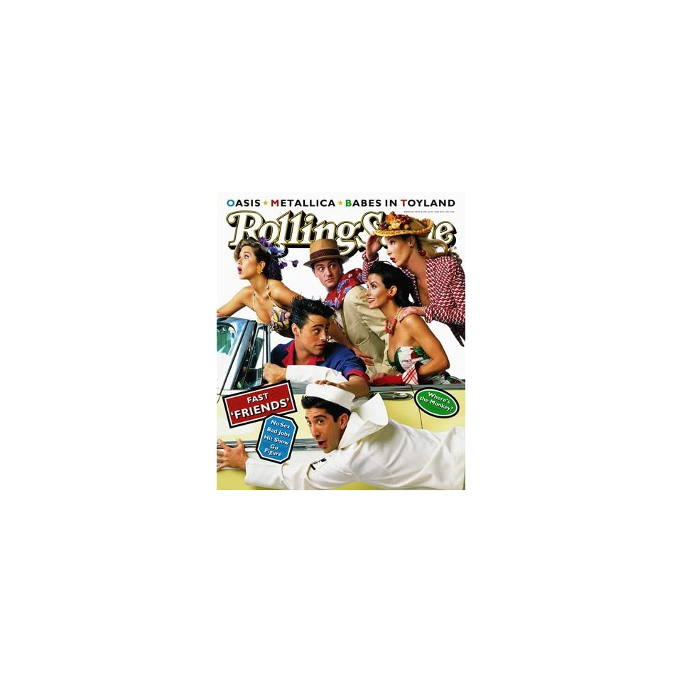Cast of Friends, 1995 Rolling Stone Cover Poster by Mark Seliger (9.00 x 11.00)
