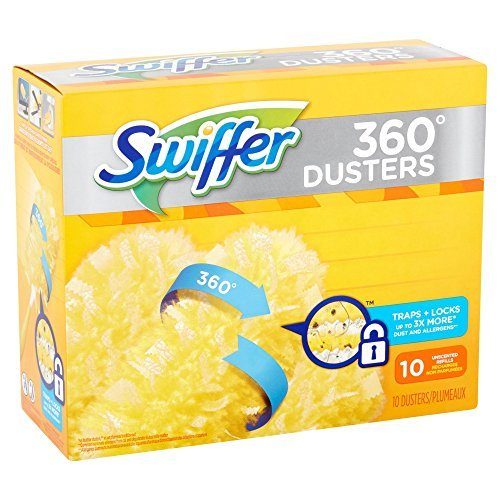 Swiffer 360 Dusters Refills, 10 Count Duster Refill (Pack of 2) by Swiffer (Image #1)