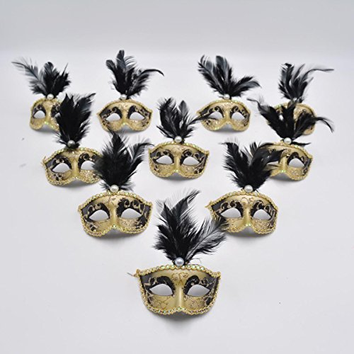 Review Masquerade Mask Party Decorations
