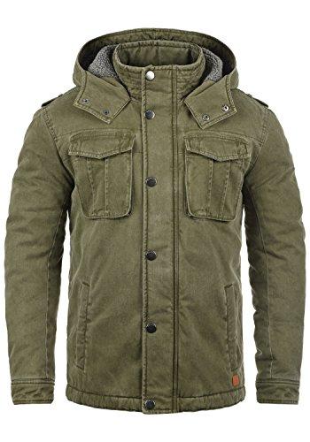 REDEFINED REBEL Mai Herren Winterjacke Jacke mit Kapuze und Teddy-Futter aus  100% Baumwolle From Redefined Rebel