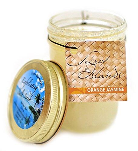 Jasmine Hand Polish (Secrets of the Islands - Orange Jasmine Salt Scrub 8 Oz)