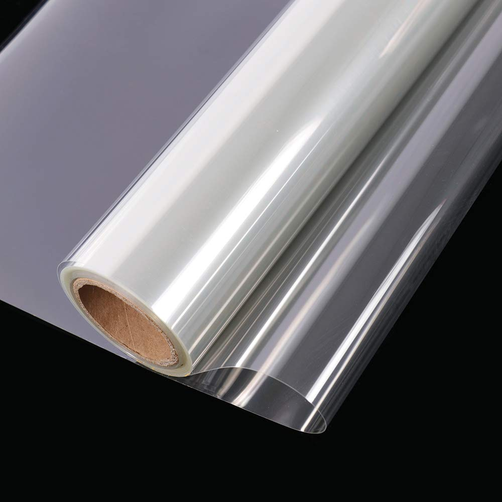 HOHOFILM Clear Safety Protection Window Film UV Blocking Security Window Tint Self Adhesive Glass Film,35.4Inch x 33feet by HOHOFILM