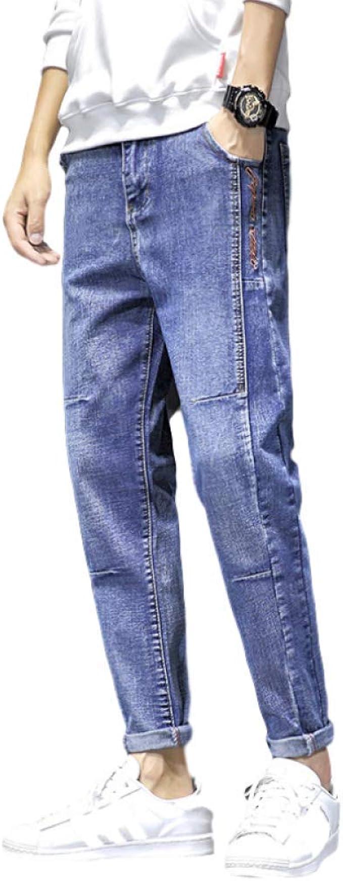 Pantalones Vaqueros para Hombre Four Seasons Slim Fashion ...