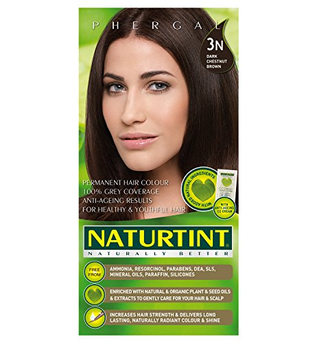 Naturtint Permanent Hair Colorant, Dark Chestnut Brown 3N (Best Chestnut Hair Dye)