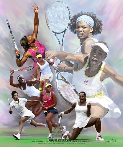 Venus and Serena by Wishum Gregory