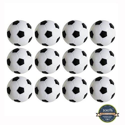 HUJI High Quality Foosballs Replacement Mini Soccer Balls