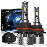 9004/HB1 LED Headlight Bulbs Conversation Kit SEALIGHT Hi/Lo Beam LED Headlamp with Fan 6000K Xenon White -2 Year Warranty(2 Pack)