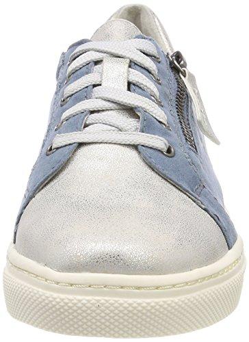 Azul Softline para Zapatillas Mujer Comb Denim 23662 xwFqaI