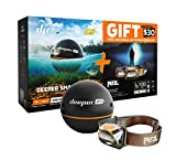 Deeper Smart Sonar PRO+ Special Bundle Offer – GPS Portable Wireless Wi-Fi Fish Finder & FREE GIFT Petzl Tikka Headlamp