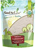 Organic Barley Flour by Food to Live (Stone Ground from Whole Hulled Barley, Non-GMO, Kosher, Raw, Vegan, Bulk, Great for Baking, Product of the USA) — 4 Pounds