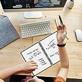 HOMESTEC Reusable Smart Notebook Erasable Wirebound