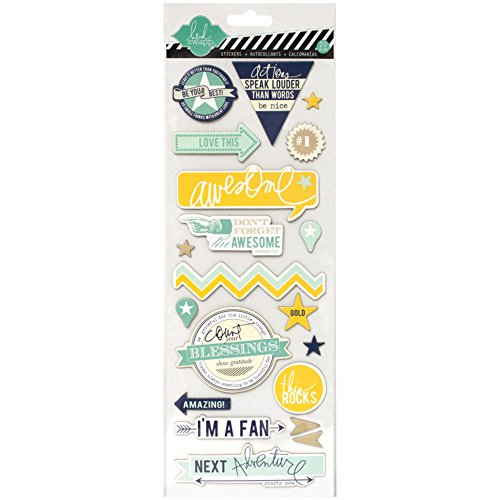 Heidi Swapp Chipboard Stickers, Awesome ()