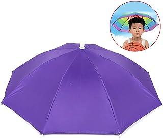 Fansport Cappello Ombrello Per Bambini Ombrello Antipioggia Anti UV Antipioggia Per Viaggi All'Aperto