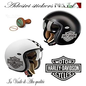 SKIN STICKER DECAL HARLEY DAVIDSON LOGO B & S CUSTOM X MOTOCICLETA