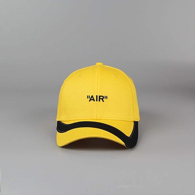 Gorra de béisbol Femenina Hip Hop Sombrero Air Bordado inglés ...