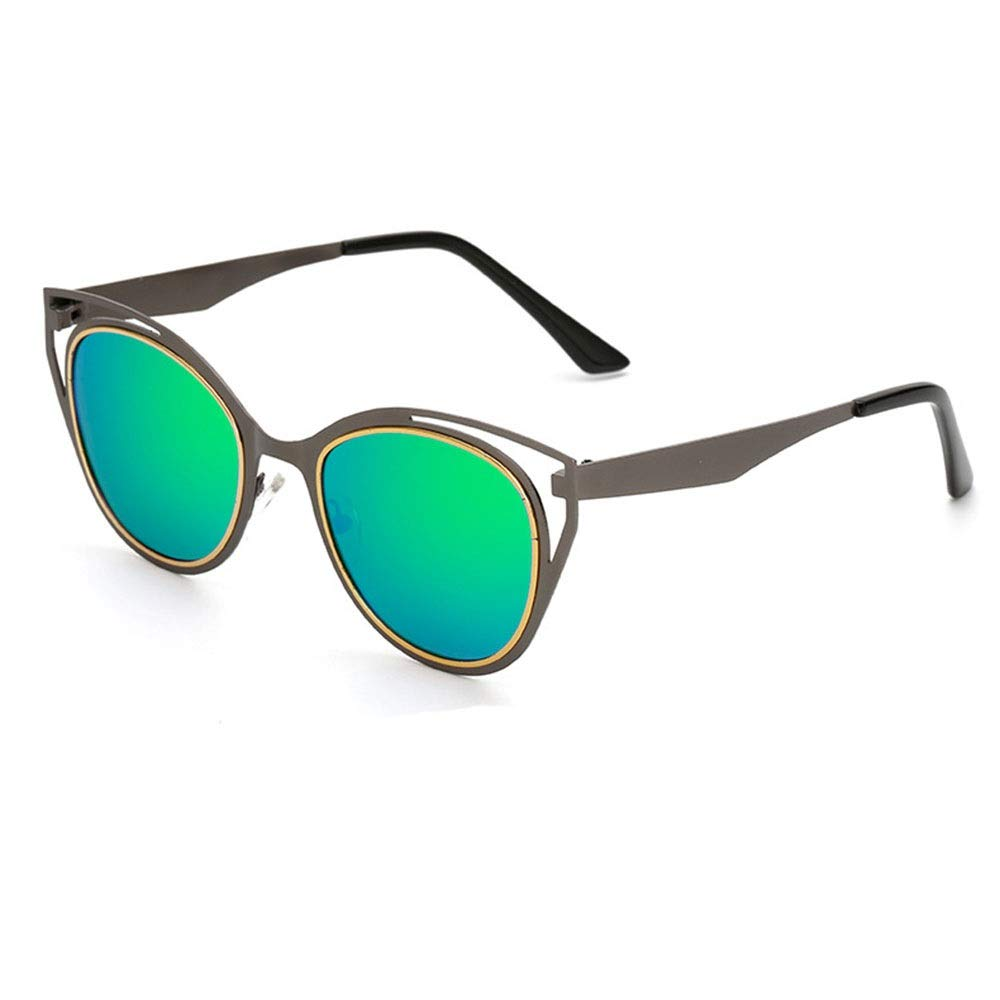 Green Womens 100% UV Predected Sunglasses Polarized Sunglasses for Fishing Sporting Driving (color   Green)