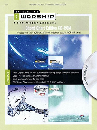 Integrity Music iWorship - Chord Chart Edition CD-ROM Integrity Series CD-ROM Performed by Various by Integrity Music