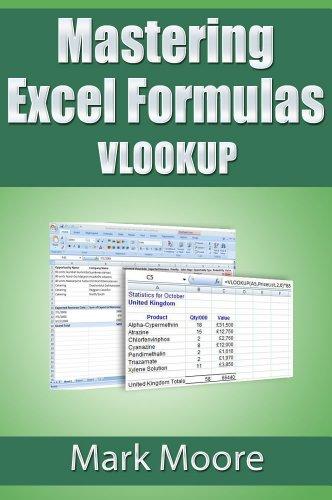 Download Mastering Excel Formulas VLOOKUP Pdf