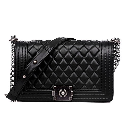 Quilted Leather Handbags - 8