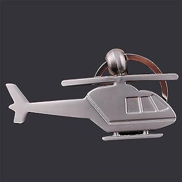 Yarmy Llavero helicóptero Metal Llavero Hombres y Mujeres ...
