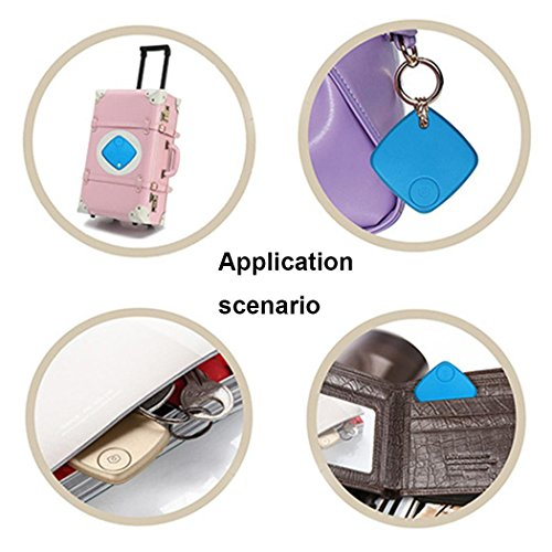 Sasarh Car GPS Tracker Kids Pets Wallet Keys Alarm Locator Realtime Finder Tracker Home Office Cabinets