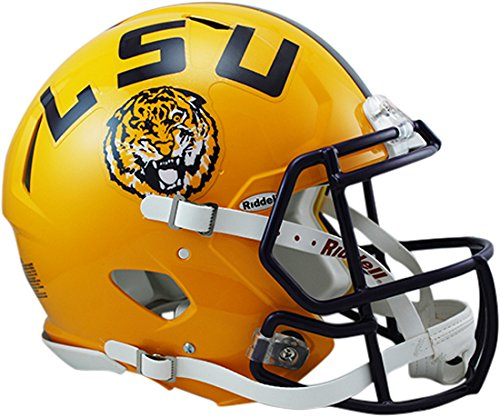 Riddell Sports NCAA LSU Tigers Speed Authentic Helmet, Yellow