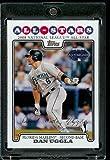 Dan Uggla AS ( All Star ) Florida Marlins - 2008 Topps Updates & Highlights Baseball Card in Protective Screwdown Display Case!